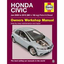 Honda Civic 1.4 1.8 gasolina 2.2 Diesel 2006-12 Haynes Manual De Taller