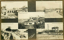HAVANA CUBA 5 DIFFERENT VIEWS FAMOUS LANDMARKS CIRCA 1907-18 RPPC P/C