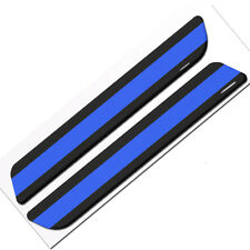 Pair of Premium Blue Line Custom Gloss Decals for Car Truck SUV Window Sticker