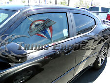 2007-2014 Dodge Avenger 4Pc Chrome Window Sill Trim Accent Stainless Steel