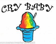 CRY BABY SYRUP MIX SHAVED ICE / SNOW CONE Flavor GALLON CONCENTRATE #1