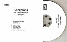 SCORPIONS: The Platinum Collection Sampler (NEW/2006/UK/EMI PROMO CD/8 TRACKS)