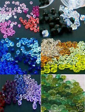 6mm #5301 #5328 Austrian Swarovski Crystal Bicone Beads 100p Kristal Beads Craft