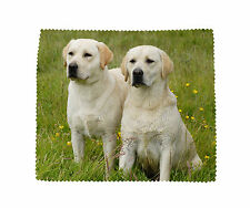 Labrador Retriever Microfibre Glasses Camera Phone Screen Cleaning Cloth-No2