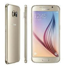 Unlocked Samsung Galaxy S6 SM-G920I 32GB Gold AT&T T-Mobile GSM Great