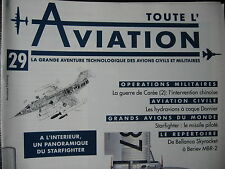 TOUTE L'AVIATION 29 HYDRAVIONS  DORNIER / STARFIGHTER F 104 / GUERRE DE COREE 2