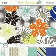 s.e.i ON THE COAST Paper Pad / Stack 15.2cmx15.2cm24 sheets CLEARANCE PRICE