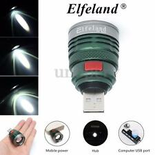 Elfeland X1000 TORCIA LAMPADA LED USB POWER BANK RICARICABILE MILITARE TATTICA