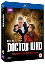 DOCTOR WHO COMPLETE SERIES 8 Blu Ray Box Set Original UK Release 8th Dr New