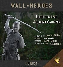 RP Models Lt Albert Cairns VC WW2 Unpainted 1/9th scale bust kit Ltd Edition