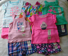 NEW 10 PC. LOT OF BABY GIRL CLOTHES 12-18 MONTHS NWT $126