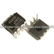 10PCS NJM4580D JRC4580D JRC 4580D DIP-8 CHIP IC BEST