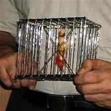 Magic Trick CANE TO BIRD CAGE - FT Appearing Cage