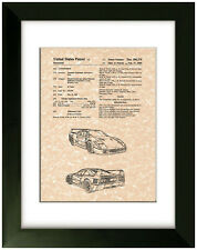 United States Patent Office Print Ferrari Art