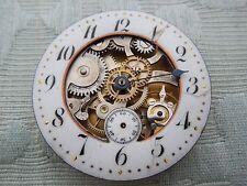 "Very Rare ""La Bavisante"" Skeleton dial Antique pocket watch movement estate find"