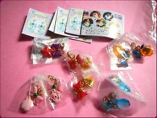 Sailor Moon earphone jack accessory Bandai Japan FULL SET