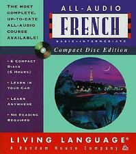 All-Audio CD: All-Audio French by Living Language Staff (1 DISC MISSING 1999)