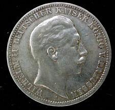 ALLEMAGNE - PRUSSE - 3 MARK 1909 A