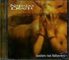 Napalm Death Leaders Not Followers CD NEW Metal