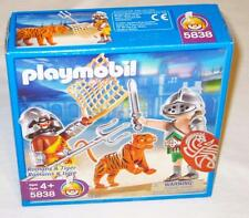 Playmobil 5838 Romans & Tiger NEW Free US Shipping