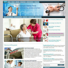 Established Health Care Affiliate Income Online Store Business Website For Sale!