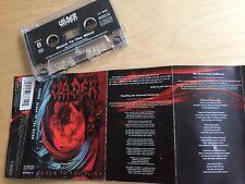 VADER - Black To The Blind MC 1997 RARE 1'ST POLISH PRESS