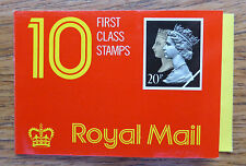 GB Machin 1990 Double Head Booklet JD1 - 10 x 20p Harrison NEW SALE PRICE FP3463