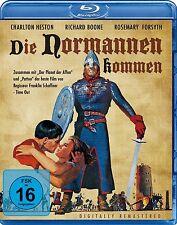 DIE NORMANNEN KOMMEN (Charlton Heston, Richard Boone) Blu-ray Disc NEU+OVP