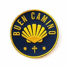 Camino de Santiago Way of St. James Parche Buen Camino Patch Vieira Peregrino