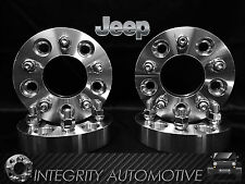 "4 1.25"" 5x4.5 to 5x5 Wheel Adapters Spacers  JEEP JK WHEELS ON TJ YJ KK SJ XJ"