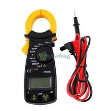 Mini LCD Digital Clamp Multimeter Portable AC DC Voltage Electronic Tester Meter