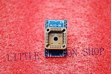 PLCC28 to DIP 24 Program IC Socket Converte fast shipping A308
