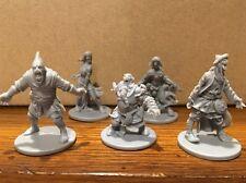 5 Zombie Walkers NPC Set - Zombicide Black Plague - 1 Of Each NPC-1 Sculpt