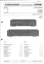 Grundig ORIGINALE Service Manual per CD 360 - 435