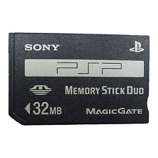 32MB SONY Memory Stick Duo NON-PRO Made in Japan PSP-M32 100% Genuine Brand New