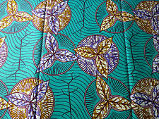 New African Cotton Print Cloth Ankara For Dresses & Craft Making Per Yard132