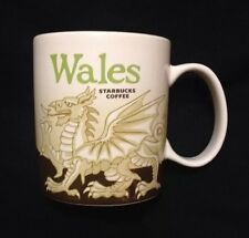 Starbucks Wales Mug Red Dragon Icon Welsh Y Ddraig Goch Cymru UK New US Ship