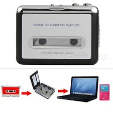Cinta a PC USB Casete MP3 CD Convertidor Captura Audio Reproductor De Música+