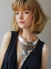 Free People Forest Flowers collar Necklace $98 Sold Out