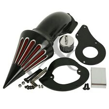 Moto Black Air Cleaner Kit Intake Filter For Honda Shadow VLX 600 VT600CD Deluxe