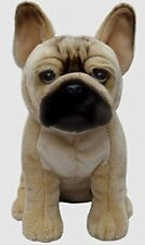 French Bulldog Soft and Cuddly Dog Toy Realistic 12 inches