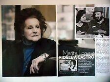 COUPURE DE PRESSE-CLIPPING : Marita LORENZ Fidèle à Castro [4pages] 06/2016