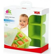 BABY WEANING PUREE FOOD STORAGE FREEZER TRAY CUBES CONTAINERS with LID BPA FREE