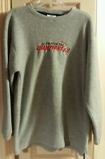 Tampa Bay Buccaneers Super Bowl XXXVII Champions Fleece Sweater Mens Large