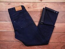 Levi's Made & Crafted Tack Slim Fit Selvedge Denim Size 34x32 Dark Wash