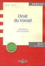 droit du travail (édition 2013) Auzero  Gilles  Dockes  Emmanuel Occasion Livre