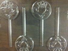 Claddagh Ring Chocolate Lollipop Mold