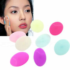 Facial Cleansing Silicone Brush Skin Blackhead Pore Cleaner Massager Scrub Face