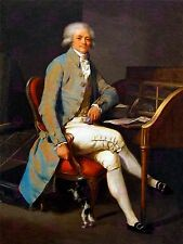 PAINTING PORTRAIT BOILLY LAWYER MAXIMILIEN ROBESPIERRE LARGE PRINT POSTER LF1595