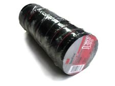 "20 ROLLS OF 3M 1700 TEMFLEX 3/4"" X 60' BLACK ELECTRICAL TAPE FAST FREE SHIPPING"